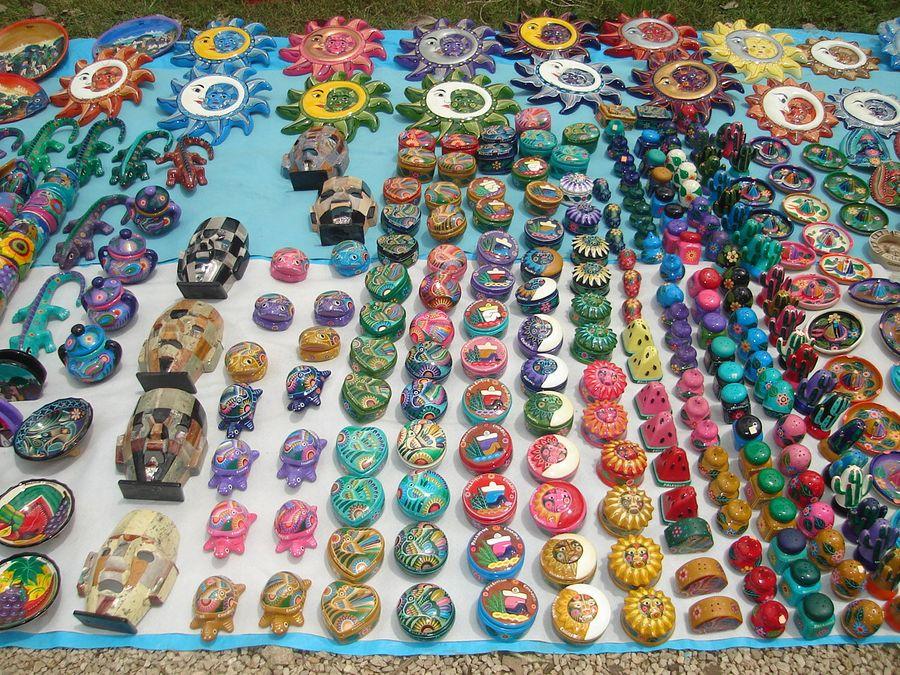 Artesanias Mexicanas Imagen Foto North America Mexico Yucatan