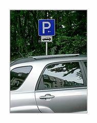 ... artgerecht geparkt (Autos dürfen geparkt werden)