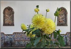 Artigianato e fiori.