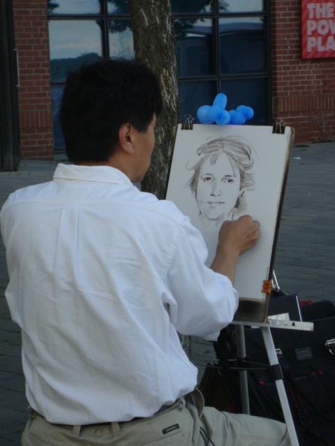 Artist-At Harbourfront-Toronto,Ontario 2013