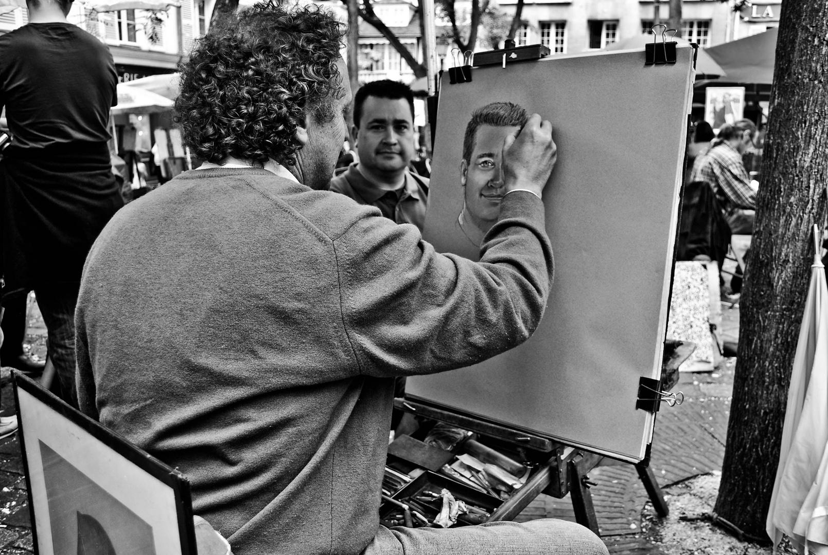 Artiste de Montmartre