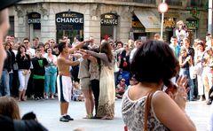 Artisti Di Strada a Barcellona