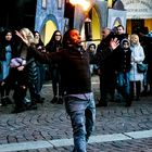 Artisti di strada a Torino