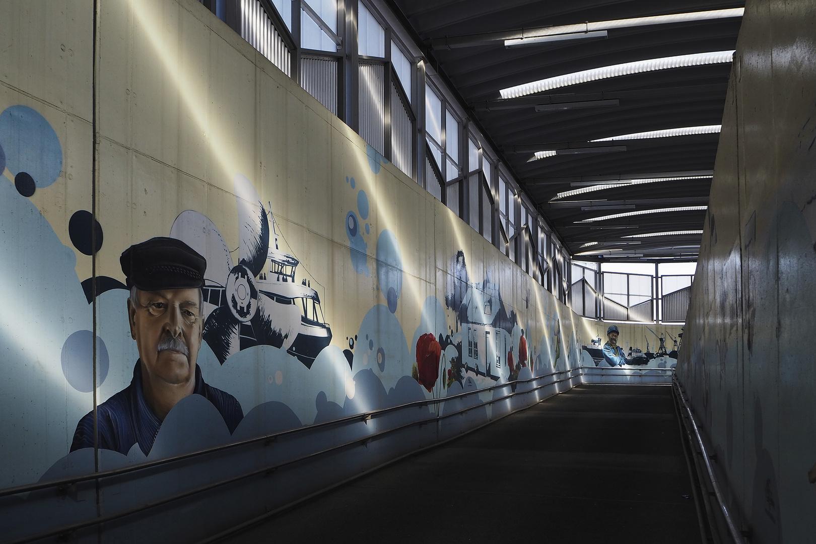 ARTunique-Graffiti in Warnemünde