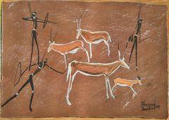 Artwork of Ronald Kharuxab, Namibia