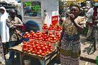 Arusha, Verkäuferin auf dem Markt