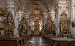 Asamkirche Maria Himmelfahrt in Aldersbach