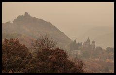 ASBACH URALT kam mir der Anblick der Drachenburg vor...