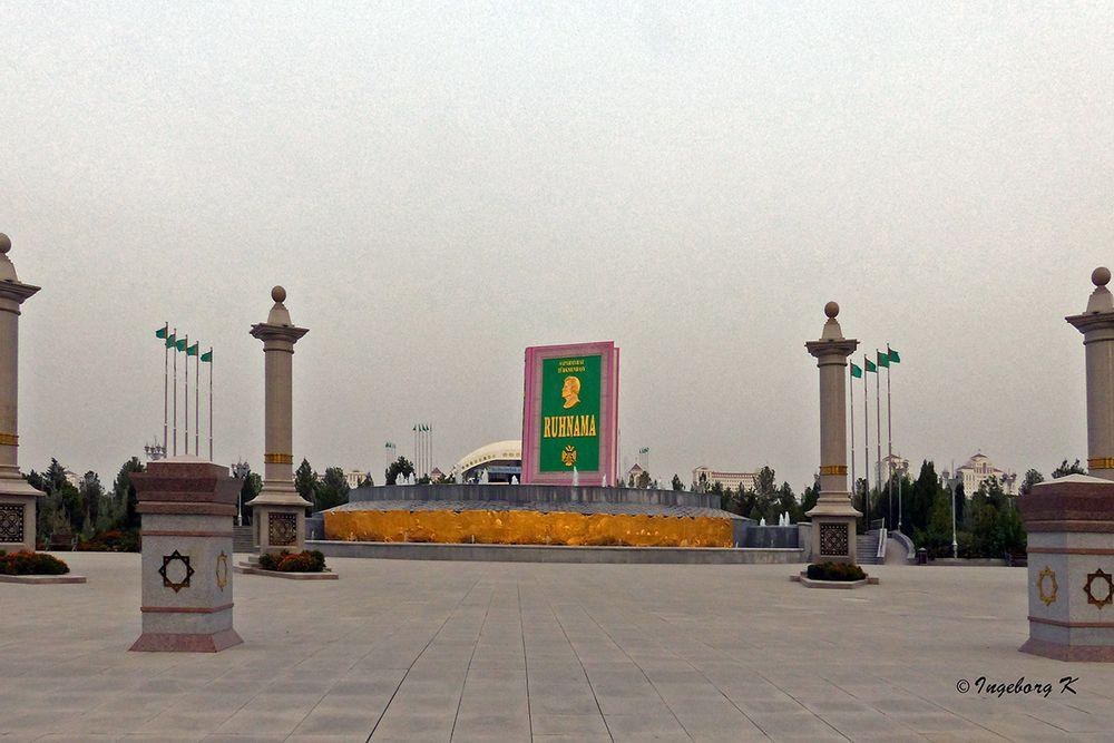 Aschgabat - Turkmenbashi-Platz