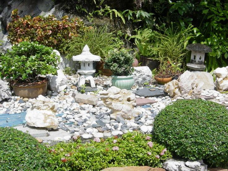 Asiatischer Garten Foto Bild Archiv Wettbewerb Fotografie Rund