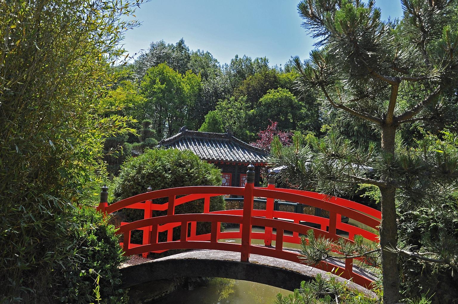 Asiatischer Garten, Münzesheim