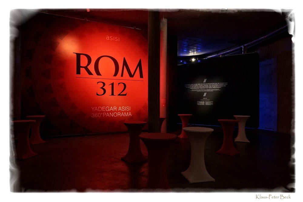 "Asisi Panorama ""Rom 312"""
