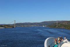 Askøy Brücke - Bergen - Norwegen