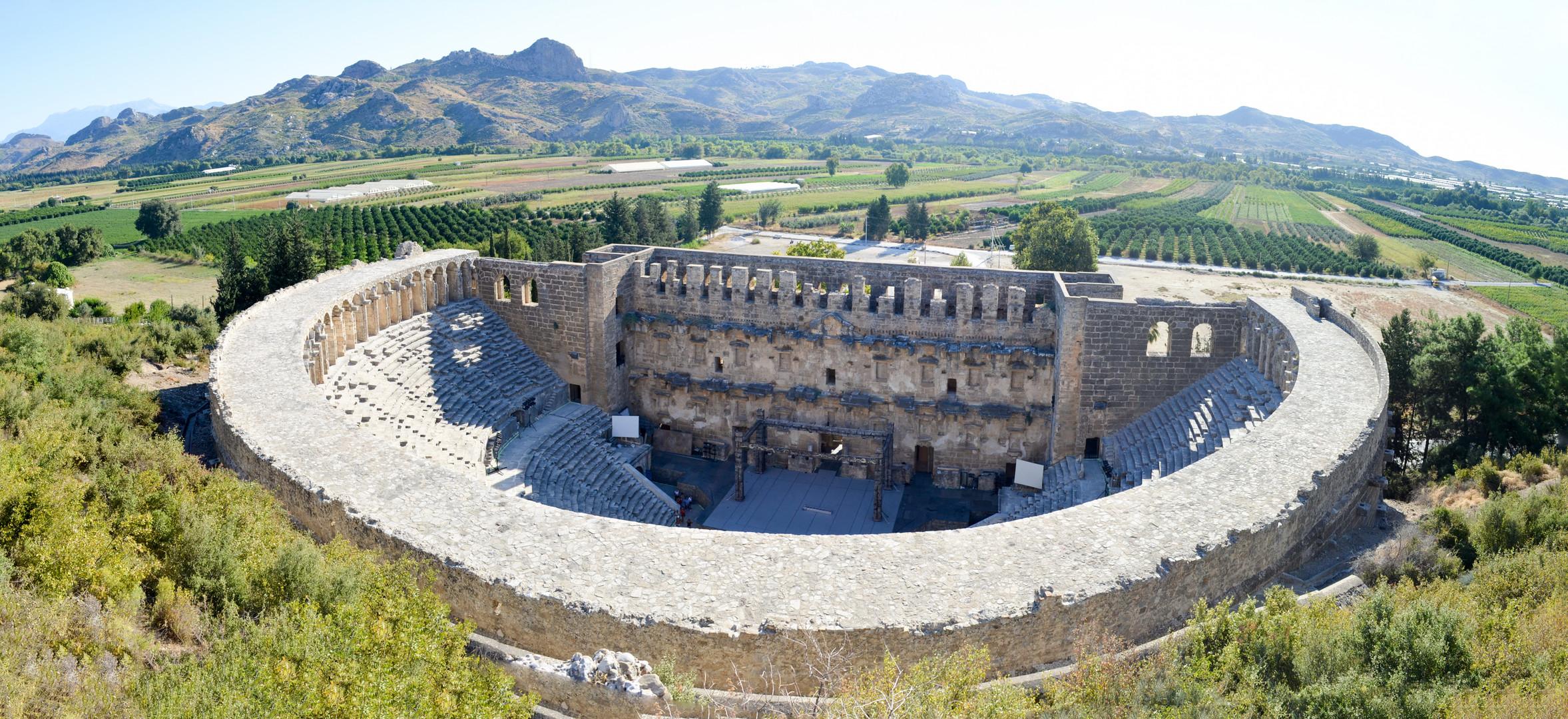 Aspendos Panorama