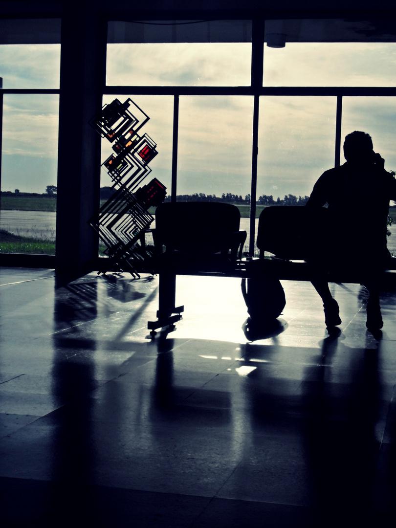 Aspettando il momento perfetto per volare verso nuovi porti.