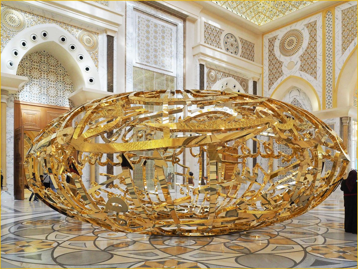 Assemblage en or
