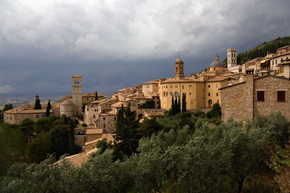 Assisi - Bedrohlich