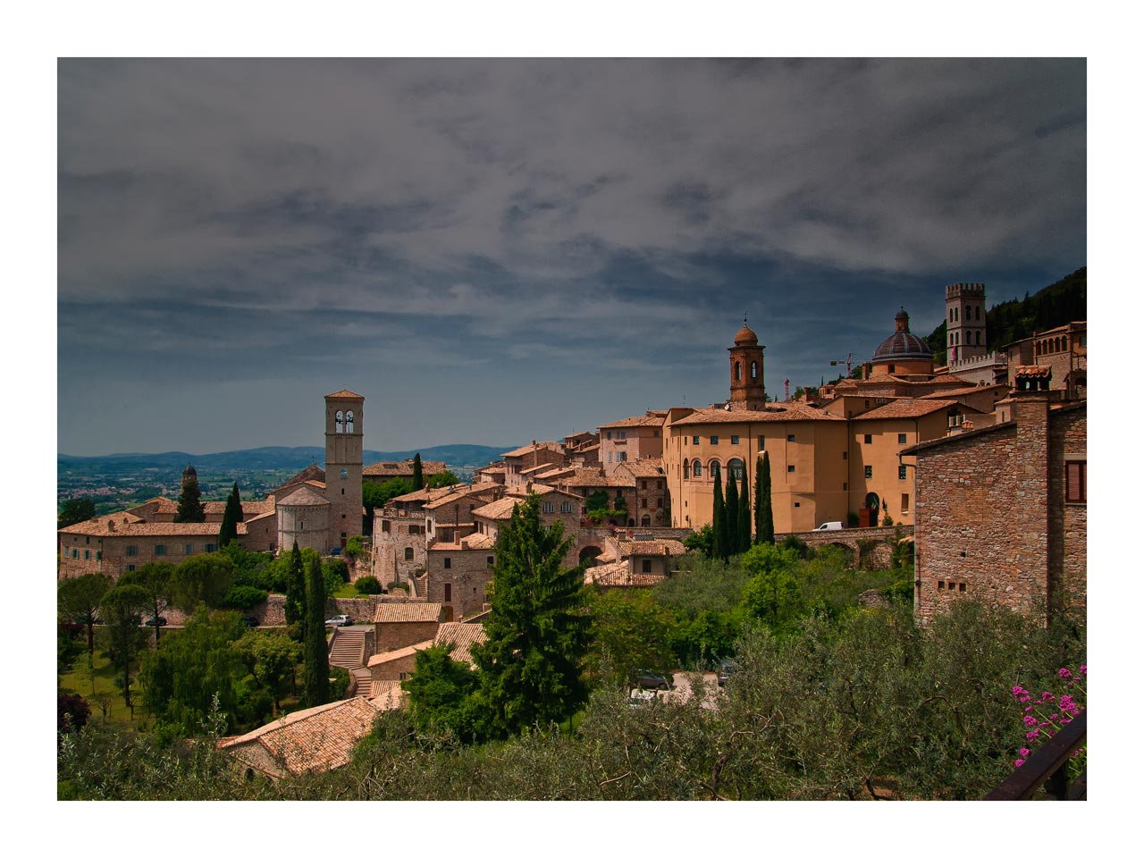 Assisi - Blick ins Land
