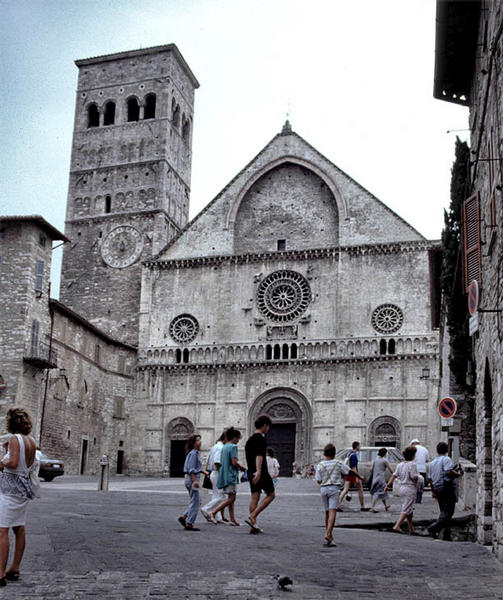 Assisi Dom San Rufino 1
