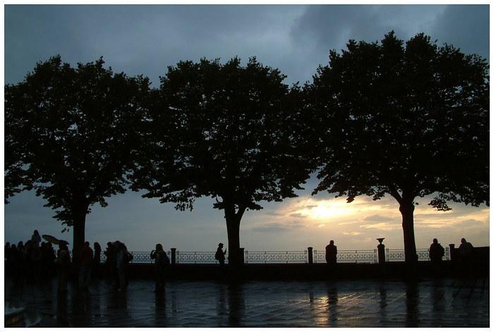 Assisi Sonnenuntergang