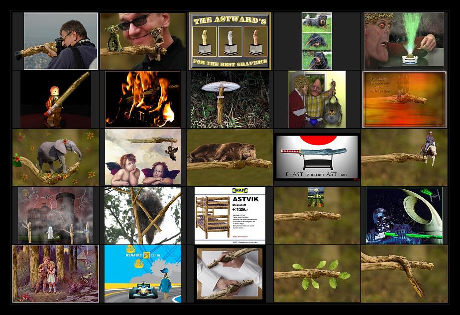 AST-Projekt - Collage Vol.19 [ÄSTe #451-#475]