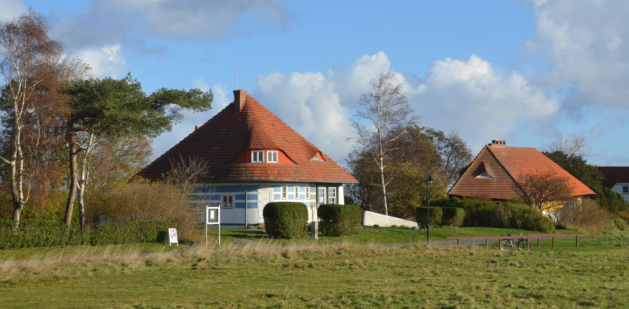 Asta Nielsen- Haus im November