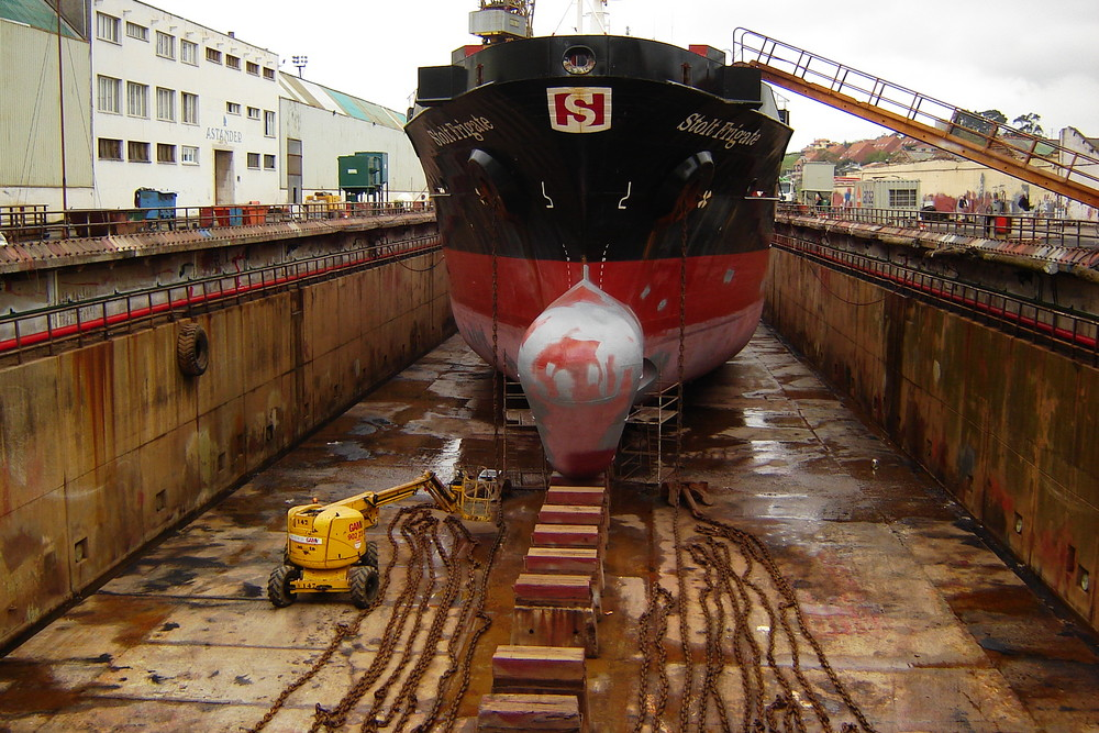 Astander shipyard; Santander - Northern Spain