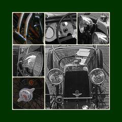 Aston Martin Collage zum Abschluss der  Serie