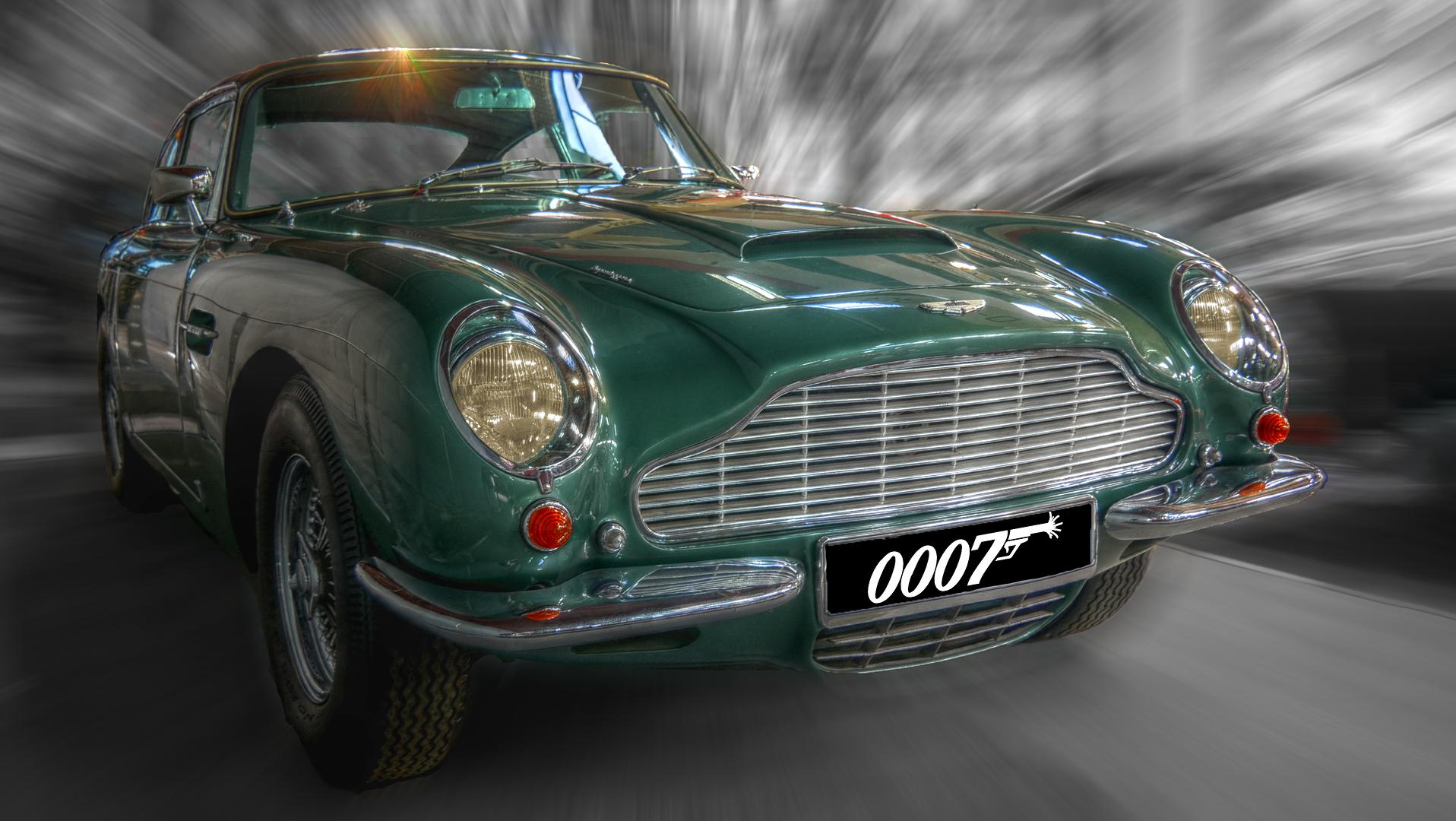 Aston Martin Db 6 Vantage Foto Bild Digiart Colorkey Oldtimer Bilder Auf Fotocommunity