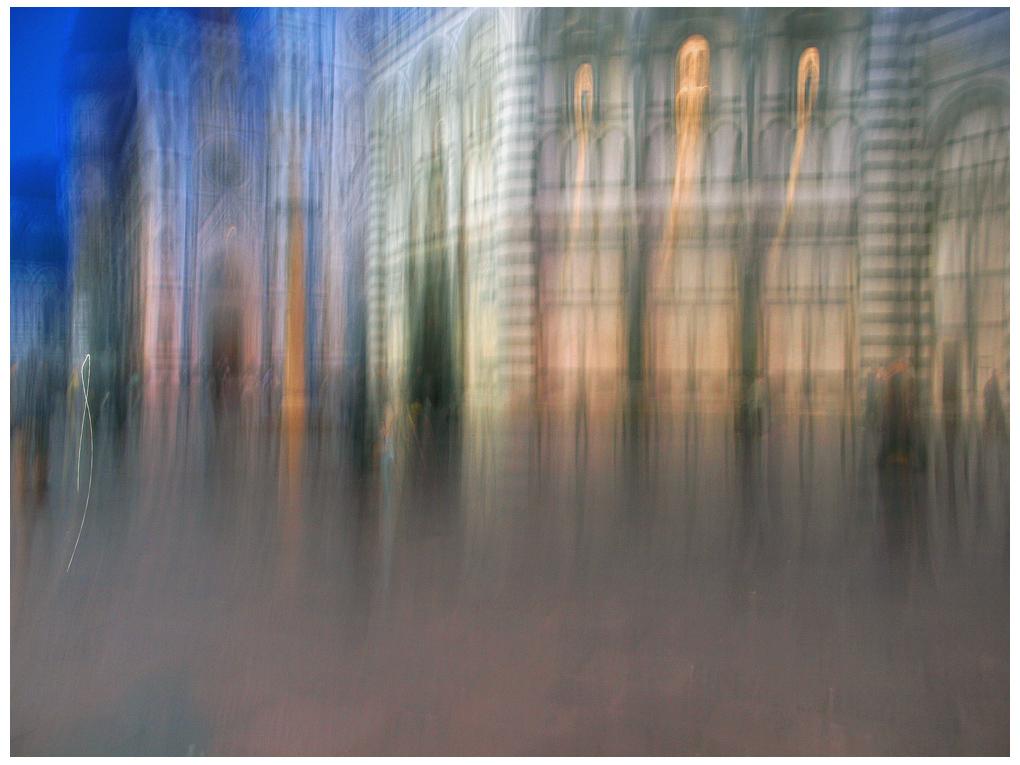 Astratta.....la Cattedrale e Battistero libera interpretazione...
