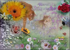 Astrid Wiezorek hat heute Geburtstag