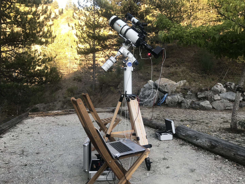 Astrofotografie bei 25° Celsius