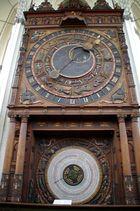 Astronomische Uhr in der Marienkirche in Rostock