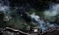 Asturien..viel Rauch...