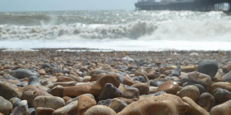 At Brighton Pier