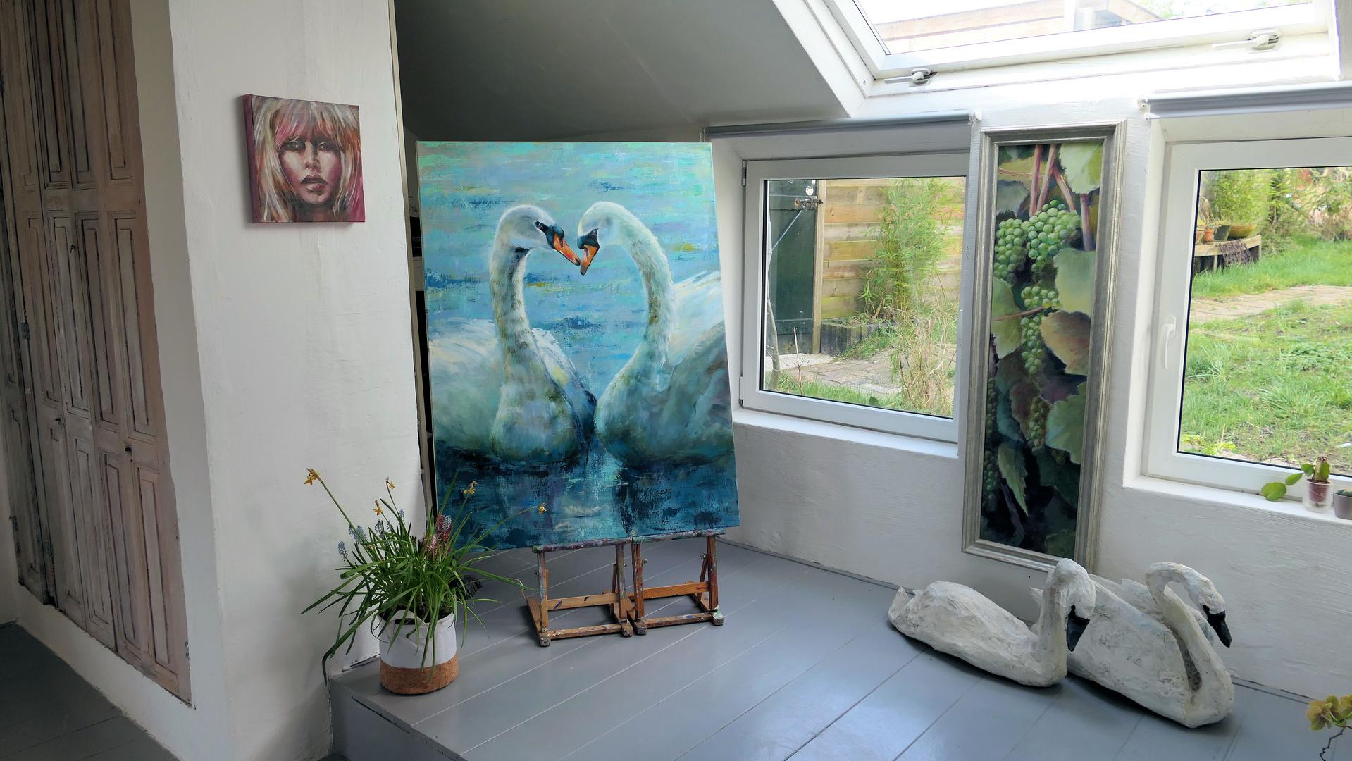 ... at Gerda's house
