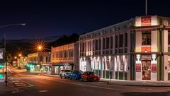 At Night in Napier
