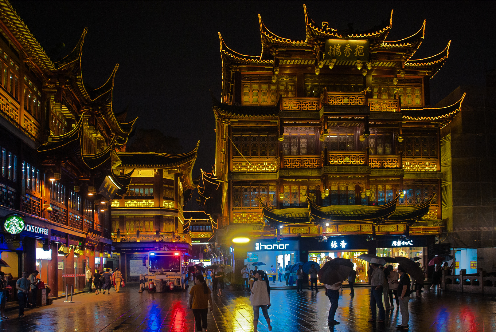At night in Yuyuan garden photo & image | asia, china, east asia ...