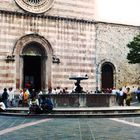*AT THE CHURCH OF STA CHIARA - ASSISI- UMBRIA*