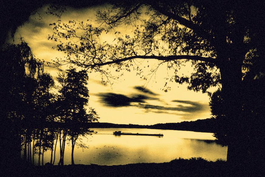 at the golden lake