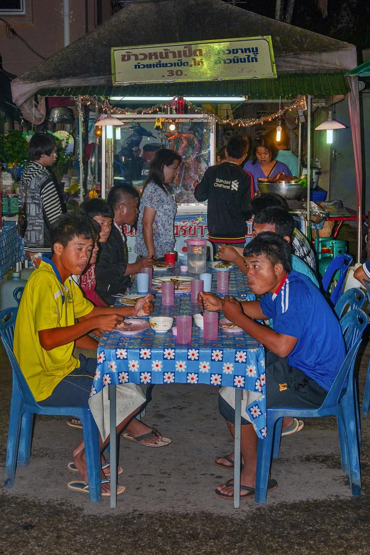 At the nightmarket in Mueang Loei
