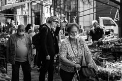 At the popular market in the time of Covid-19 #3