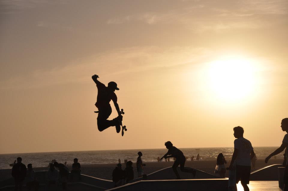 At the Skate Park in Santa Monica