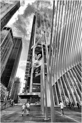 At the World Trade Center - No.4 - Oculus at Church St