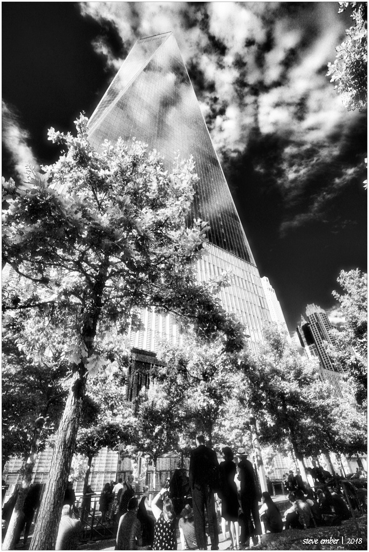 At the World Trade Center No.7 - Freedom Tower, Summer Afternoon