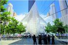 At the WTC - 9/11 Memorial Museum and Oculus