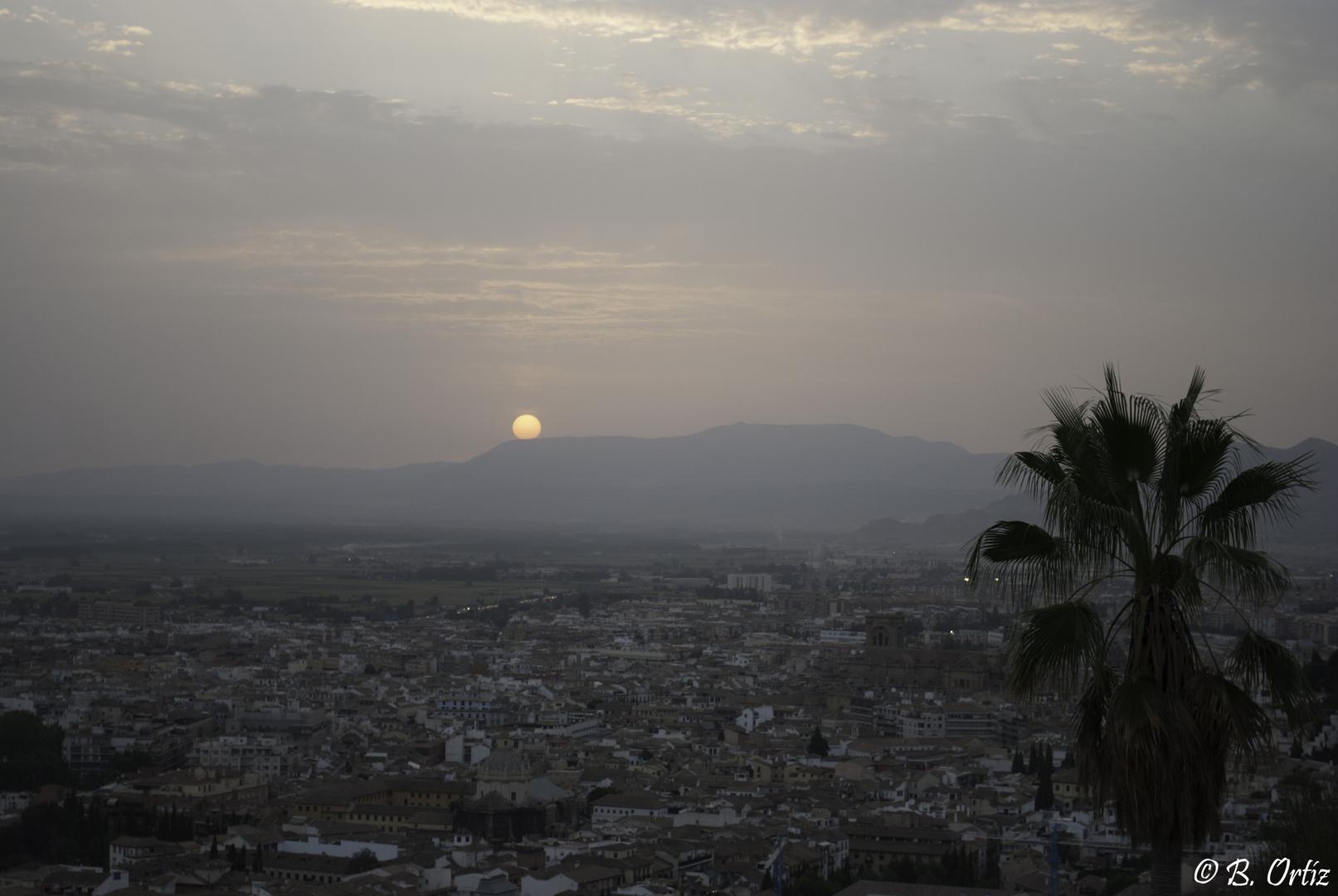 Atardece en Granada