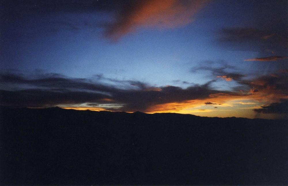 Atardecer en Chavín de Huantar-Huaraz