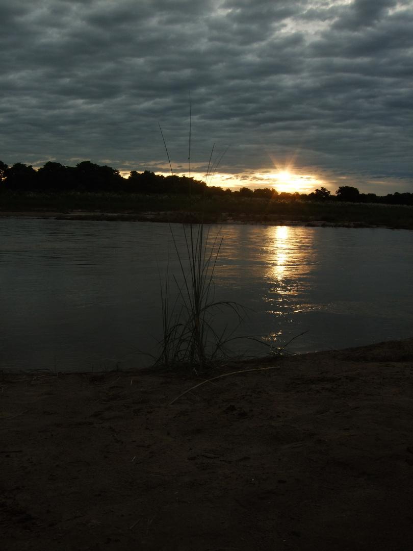 Atardecer en Chitwan