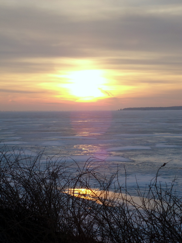 Atardecer en el Mar del Este, Sonnen Untergang in Ostsee